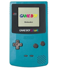 Nintendo Game Boy Color System - Teal Blue