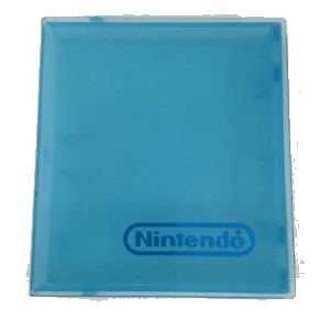 Nintendo (NES) Hard Plastic Game Case (Blue) - OEM