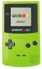 Nintendo Game Boy Color System - Kiwi Green