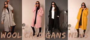 Wool coat cardigans collecetion 2018 autumn Flamingolandia.online