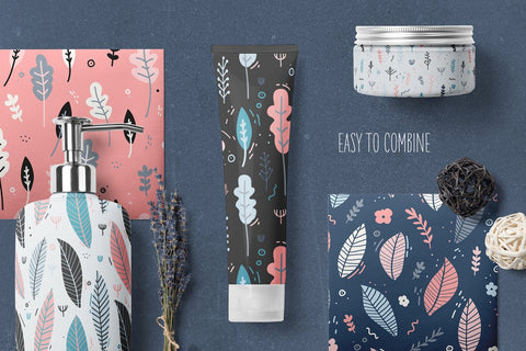 Gentle Garden ✿ Patterns & Elements Uniyok by Creative Market