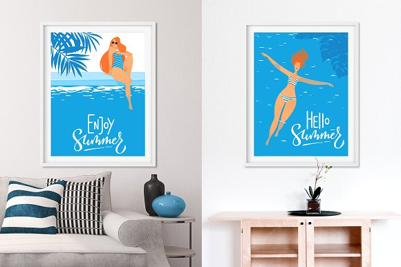 Summer Poster Designs free download