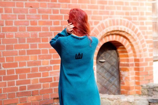 Warm long wool sweater About freedom | VÉJA,knitted tunic | Women fashio shop|  Flamingolandia.online