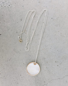 White moon necklace TULUA