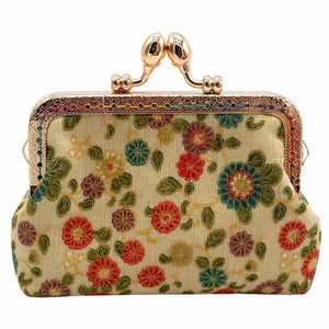 Coin purse in retro vintage style | Flamingolandia