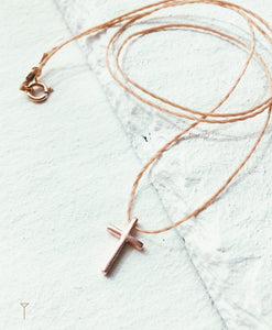 Necklace small cross TULUA | Flamingolandia