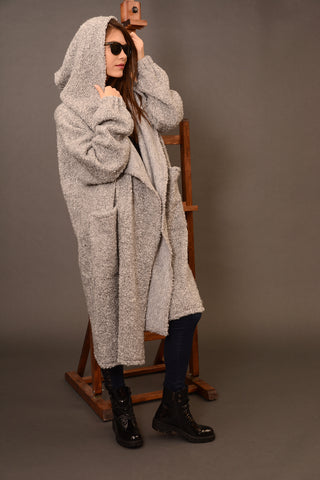 Wool oversized coat cardigan | Danellys u10e6 | Flamingolandia