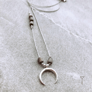 Necklace Moon TULUA | Flamingolandia