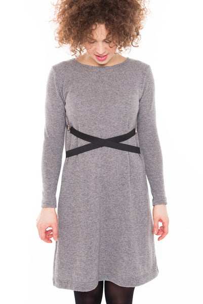 Grey wool dress LeMuse,dress | Women fashio shop|  Flamingolandia.online