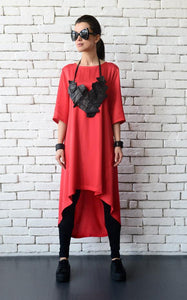 Loose long tunic  | META series | Flamingolandia
