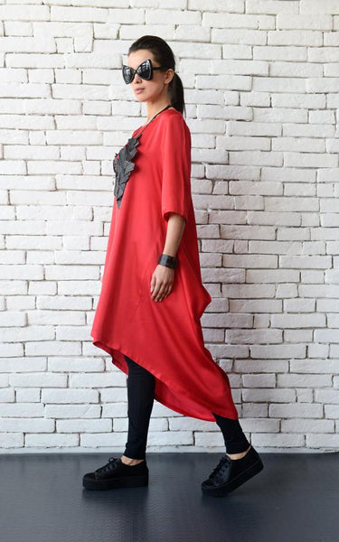Loose long tunic  | META series,tunic | Women fashio shop|  Flamingolandia.online