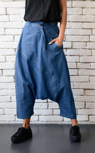 Loose design denim pants | META seriesLeggings - Flamingolandia.online