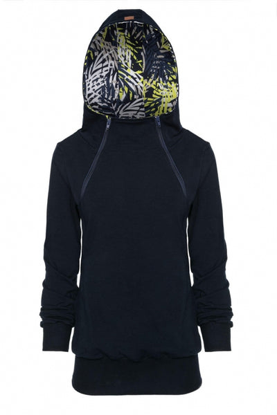 Breastfeeding hoodie with  zippers - Jungle mind! | Flamingolandia