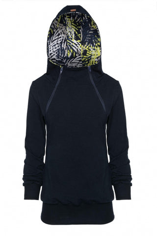 Breastfeeding hoodie with  zippers - Jungle mind!
