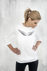 Nursing top - Angel wings!,breastfeeding longsleeves | Women fashio shop|  Flamingolandia.online