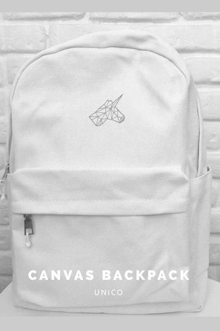 Canvas backpack - UNICO,Bagpack | Women fashio shop|  Flamingolandia.online