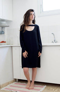 Chiker black mini dress  I Whoosh | Flamingolandia