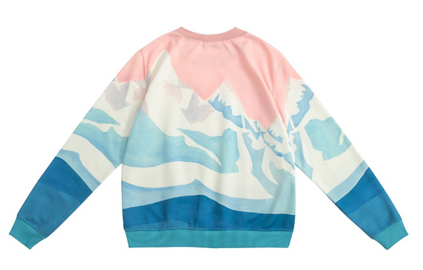 Casual sweatshirt - Mountainssweatshirt - Flamingolandia.online