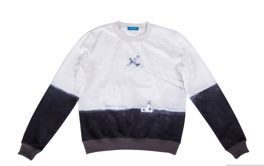Casual sweatshirt - To the sky,sweatshirt- Flamingolandia.online