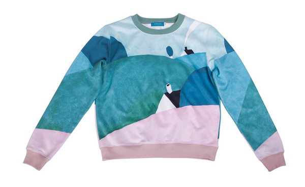 Casual sweatshirt - Farm,sweatshirt | Women fashio shop|  Flamingolandia.online