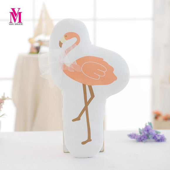 Flamingo Shape Stuffed Cushion - Flamingolandia.online