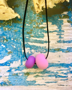 Handmade accesories VIŠTA - Pink lady,necklace- Flamingolandia.online