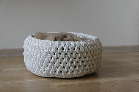 Rope croatched Newborn basket,basket | Women fashio shop|  Flamingolandia.online