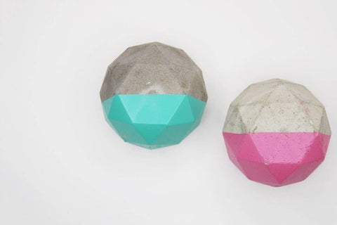 Concrete cabinet knob round diamond shape |  A lot colors to choose,kabinet knob | Women fashio shop|  Flamingolandia.online
