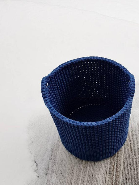 Rope crotched Scandinavian storage basket,basket | Women fashio shop|  Flamingolandia.online