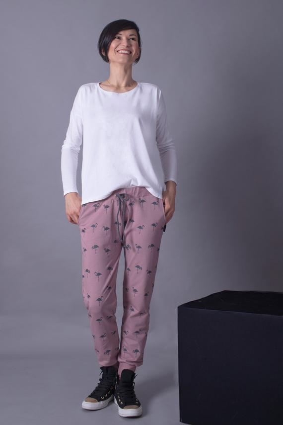 Lounge clothes women pants -  pink flamingos!,Lounge pants | Women fashio shop|  Flamingolandia.online