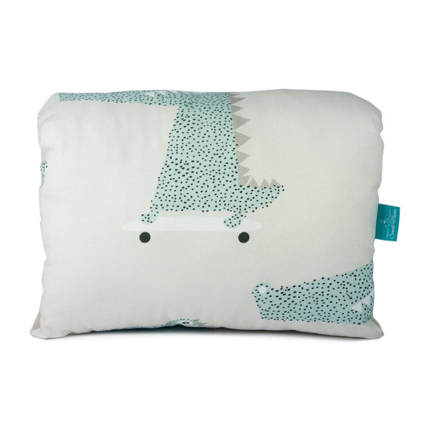 Nursing arm pillow - Crocodile Cotton | Flamingolandia