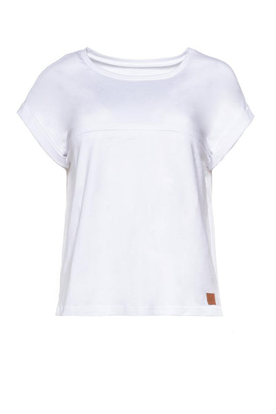 Breastfeeding T-Shirt  - White summer!