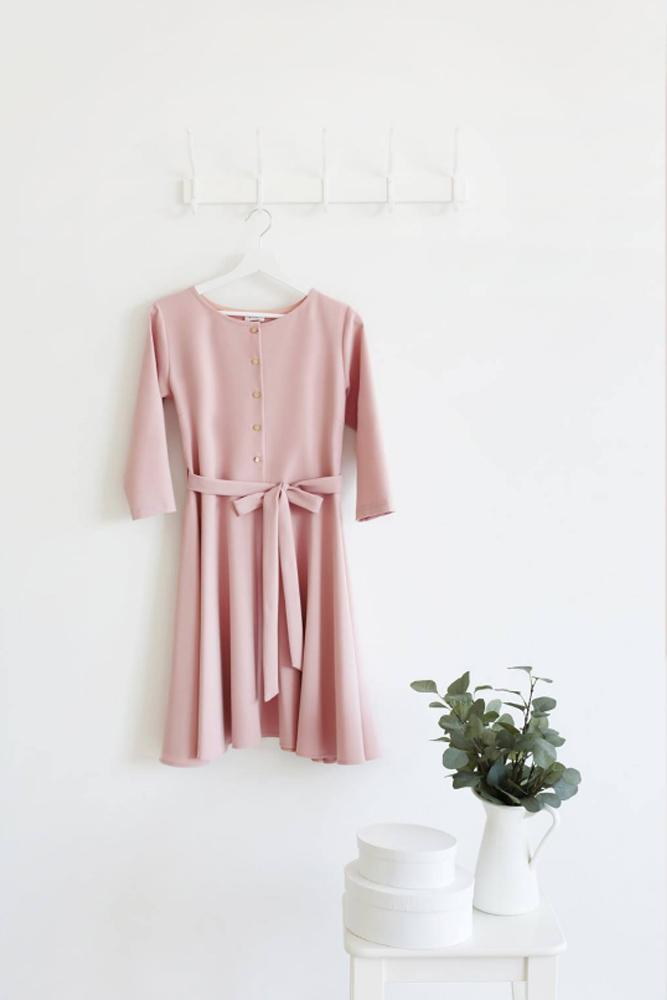 Jasmine smell dress - Light Rose Color | Flamingolandia
