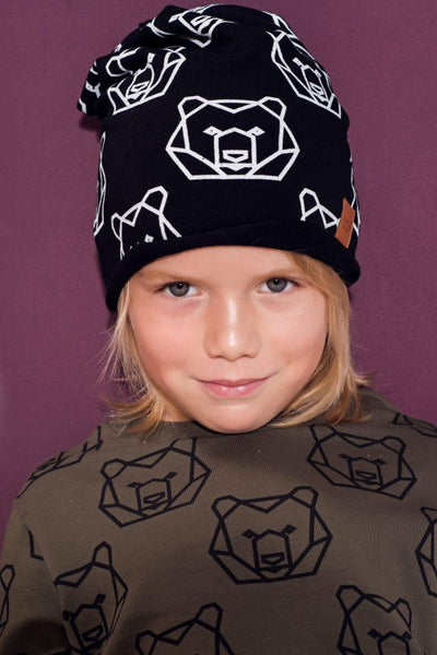 Kid cap -  BEARS geometry!,Kids cap | Women fashio shop|  Flamingolandia.online