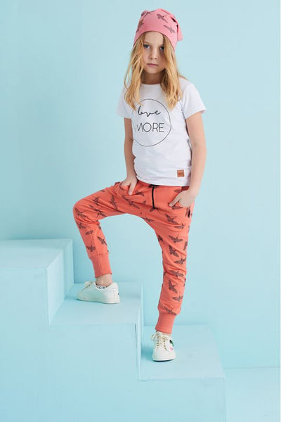 Kids cotton pants with pockets - Grus! | Flamingolandia