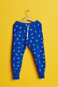 Kids cotton pants with pockets - Swimmer! | Flamingolandia