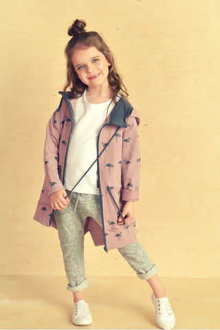 Casual kids long hoodie - Flamingo family!,kids hoodie | Women fashio shop|  Flamingolandia.online