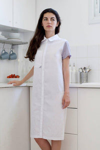 Linen T-shirt summer dress |  Whoosh,dress | Women fashio shop|  Flamingolandia.online