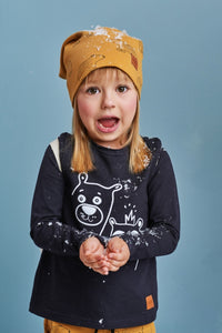 Kids longsleeve jumper - Teddy Bear! | Flamingolandia