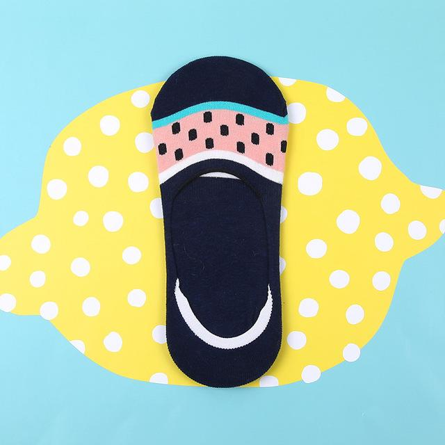 Mini boats socks - Watermelon smile - Flamingolandia.online