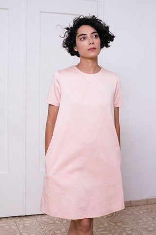Mini light pink dress  I   Whoosh,dress | Women fashio shop|  Flamingolandia.online