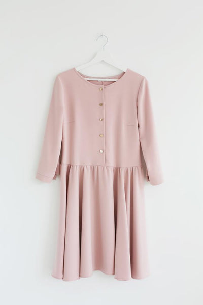 Pink kite dress,dress | Women fashio shop|  Flamingolandia.online