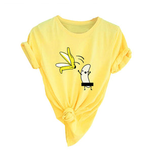 Short Sleeve T-Shirt - Banana get naked!