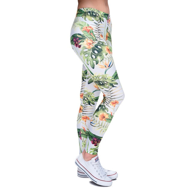 High quality slim Leggings - Jungle | Flamingolandia
