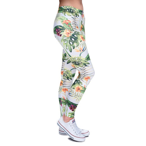 High quality slim Leggings - Jungle,Leggings | Women fashio shop|  Flamingolandia.online