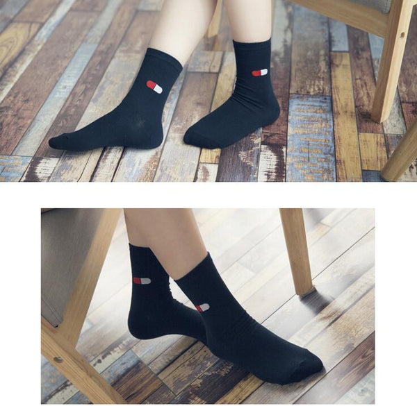 High-quality black socks - Pillow,Socks | Women fashio shop|  Flamingolandia.online