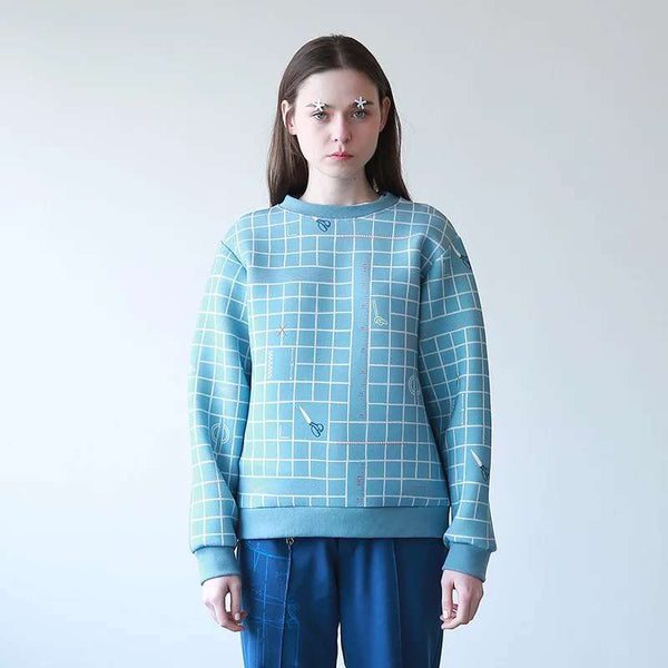 Space Cotton Pullover - Sewing is my passion,sweatshirt | Women fashio shop|  Flamingolandia.online