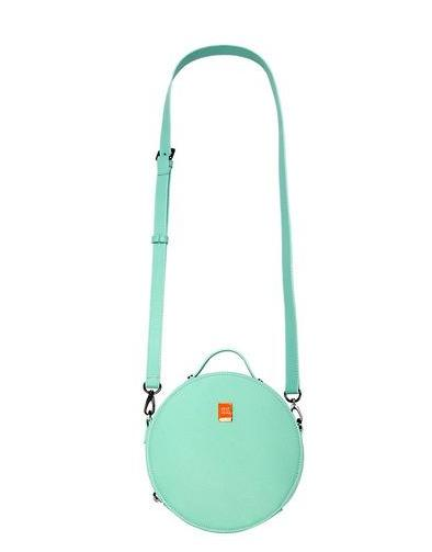 Mini round crossbody  PU bag - Read more..purse - Flamingolandia.online