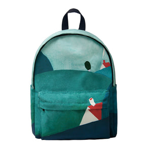 Canvas backpack -  Landscape love, | Women fashio shop|  Flamingolandia.online