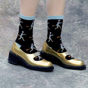 Rocket lovers socks packed in a jarSocks - Flamingolandia.online
